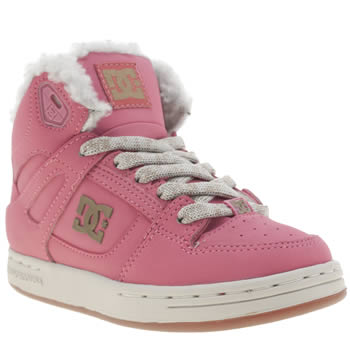 Dc Shoes Pink Rebound Wnt Girls Junior