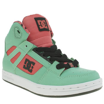 Dc Shoes Turquoise Rebound Se Girls Junior
