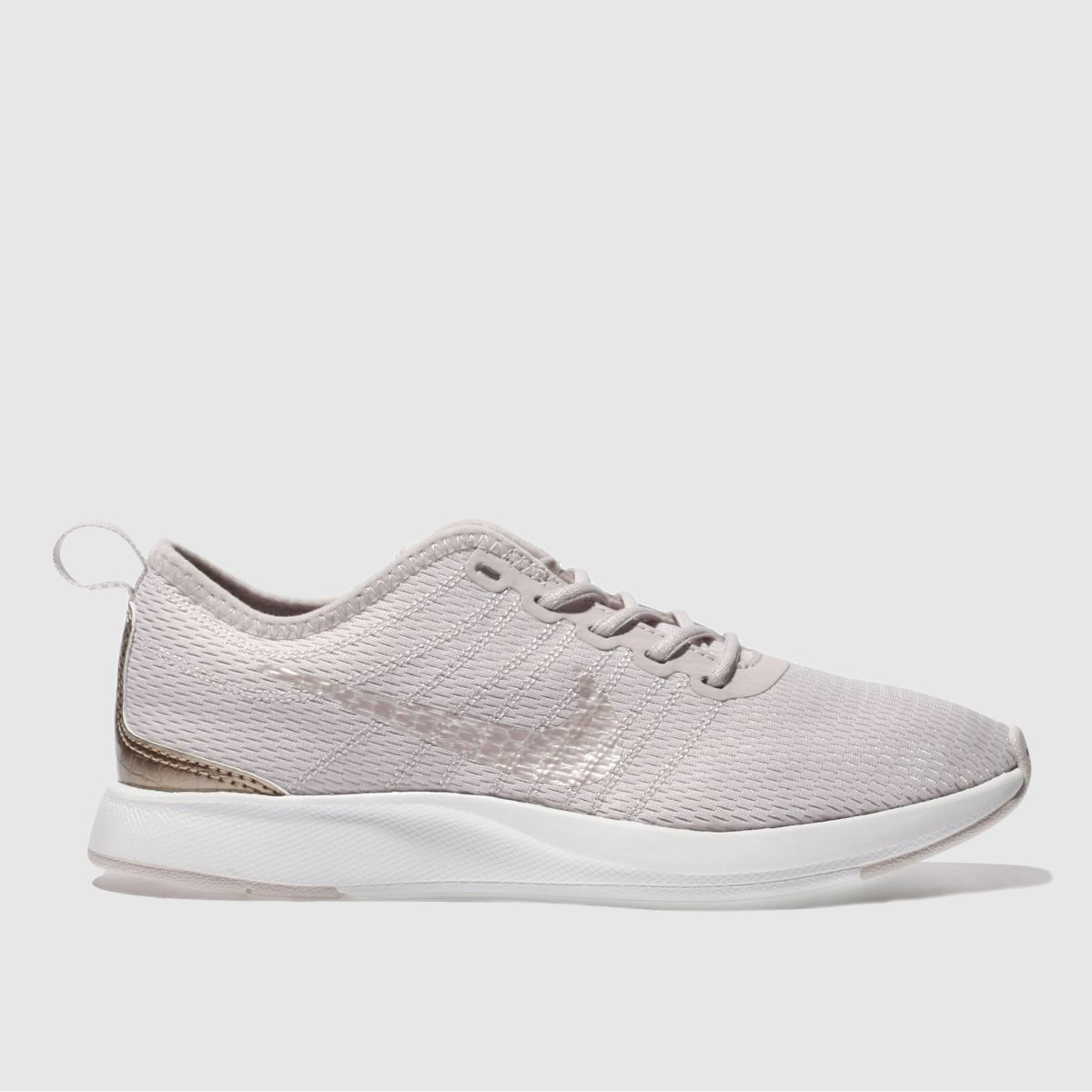nike pale pink dualtone racer Girls Junior Trainers
