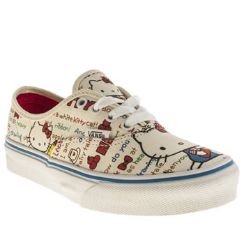 Vans Multi Authentic Hello Kitty Girls Junior