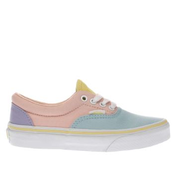 Vans Pale Blue & Pink Era Girls Junior