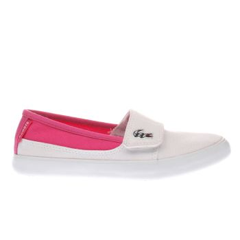Lacoste White Marice Girls Junior
