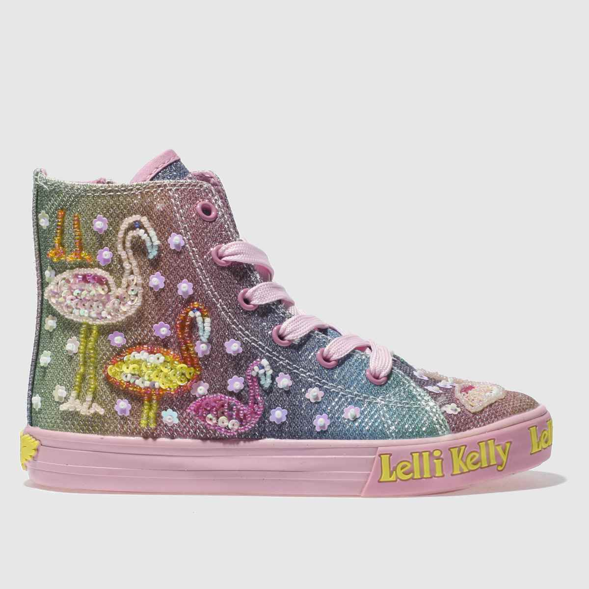 Lelli Kelly Lelli Kelly  Pink Shining Flamingo Girls Junior Trainers