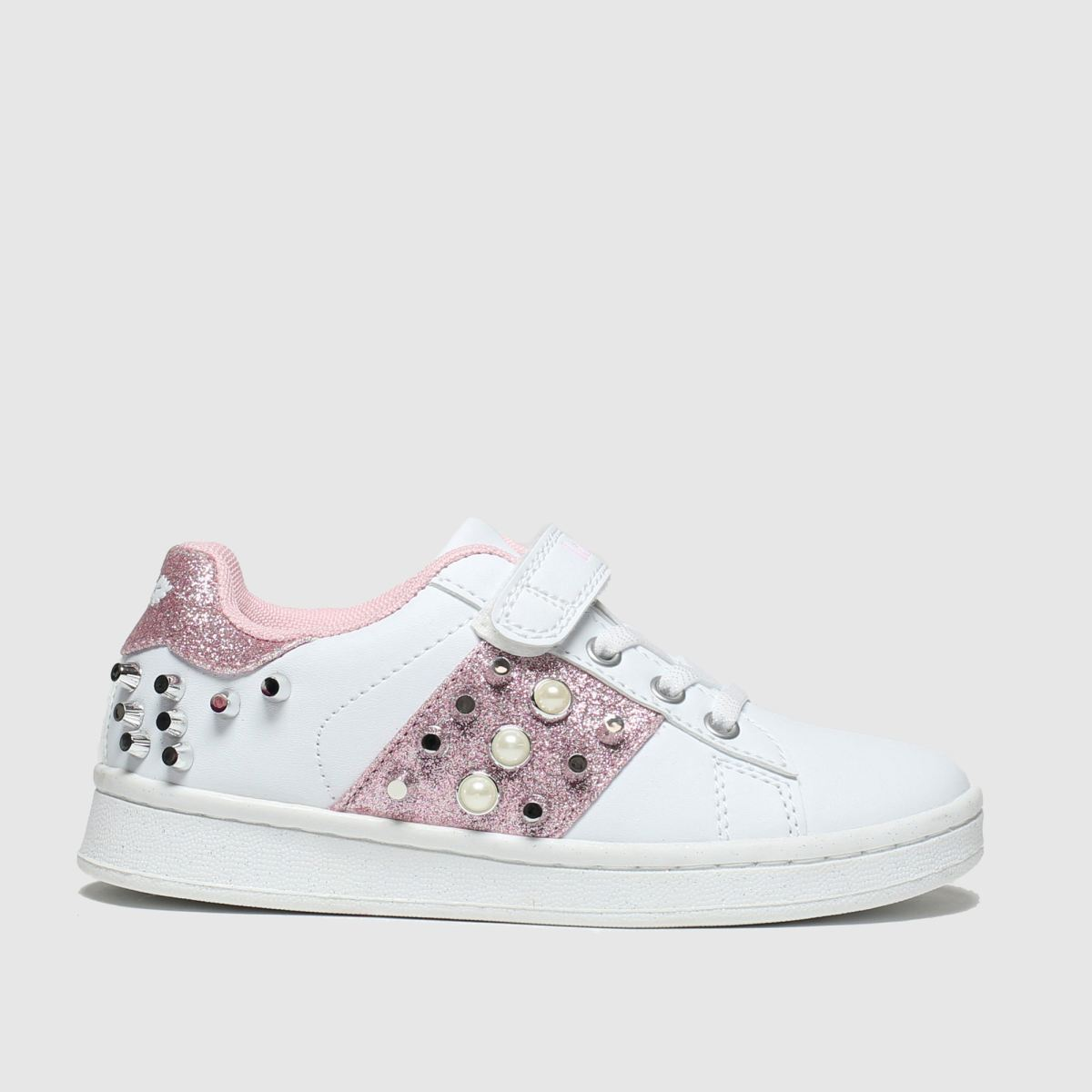 Lelli Kelly Lelli Kelly White & Pink Perla Trainers Junior