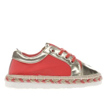Lelli Kelly Pink Marbella Espadrille Girls Junior