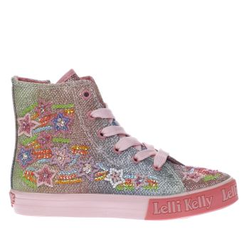 LELLI KELLY  PINK RAINBOW STAR GIRLS JUNIOR TRAINERS