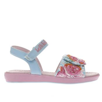 Lelli Kelly Pink & Blue Rosie Sandal Girls Junior