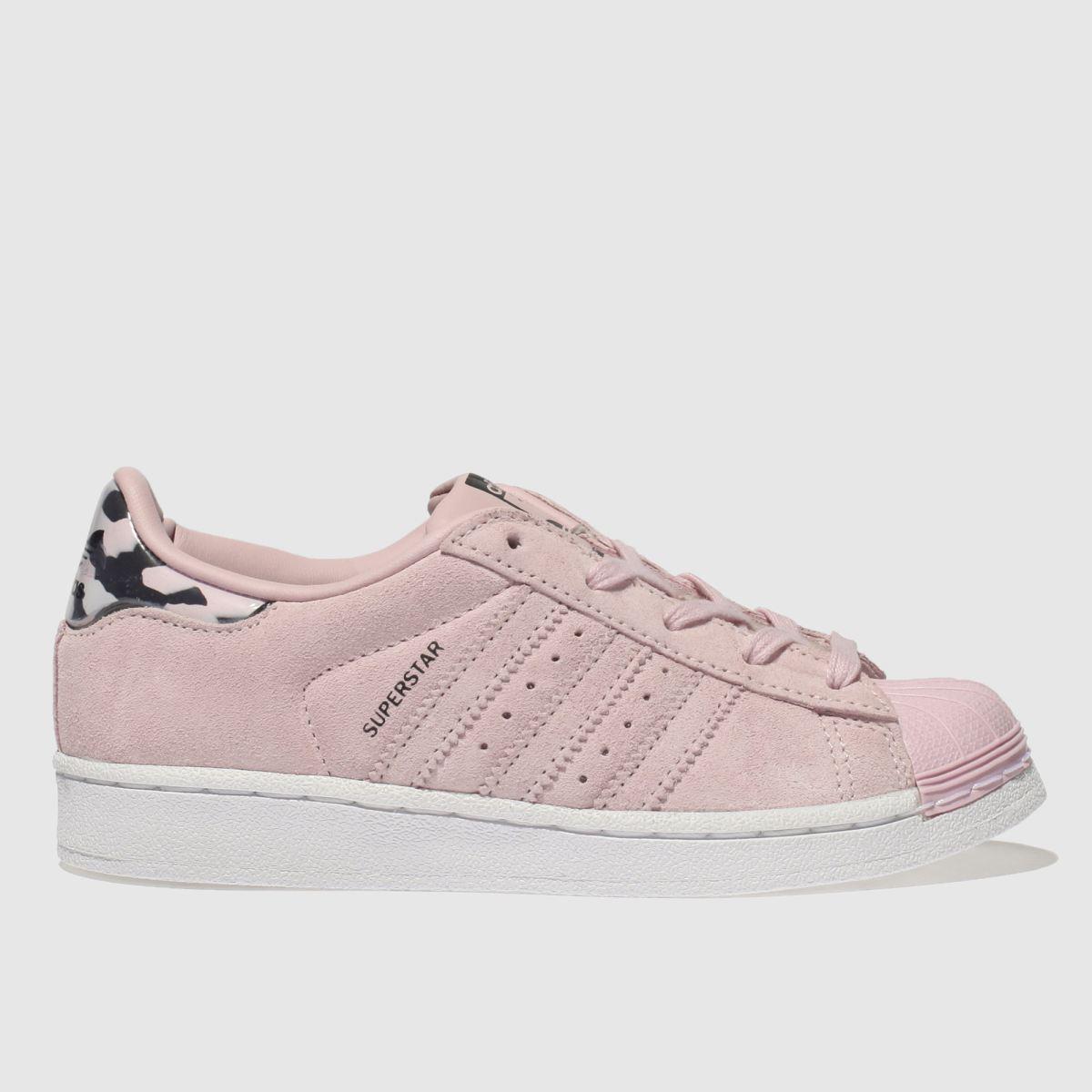 Adidas Pink Superstar Girls Junior Junior