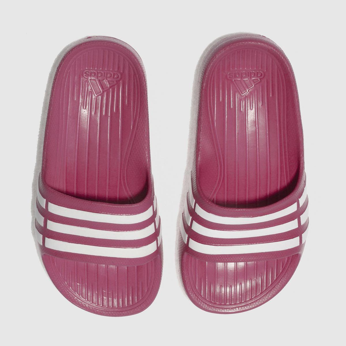 Adidas Pink Duramo Slide Girls Junior Junior