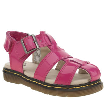 Girls Dr Martens Pink Sailor Sandal Girls Junior