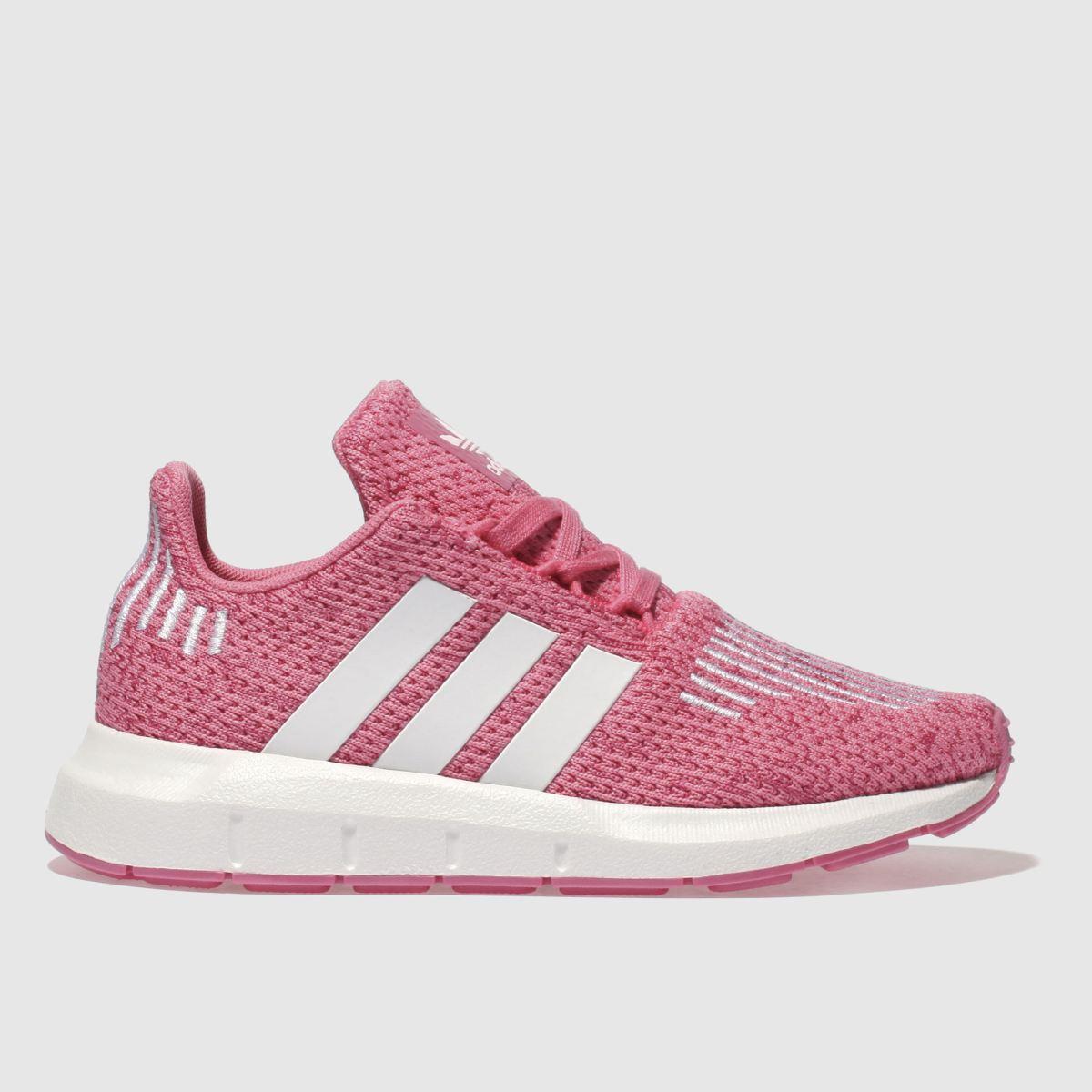 Adidas Pink Swift Run Girls Junior Junior