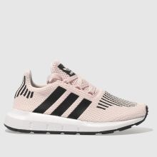 Adidas Pink & Black Swift Run Girls Junior