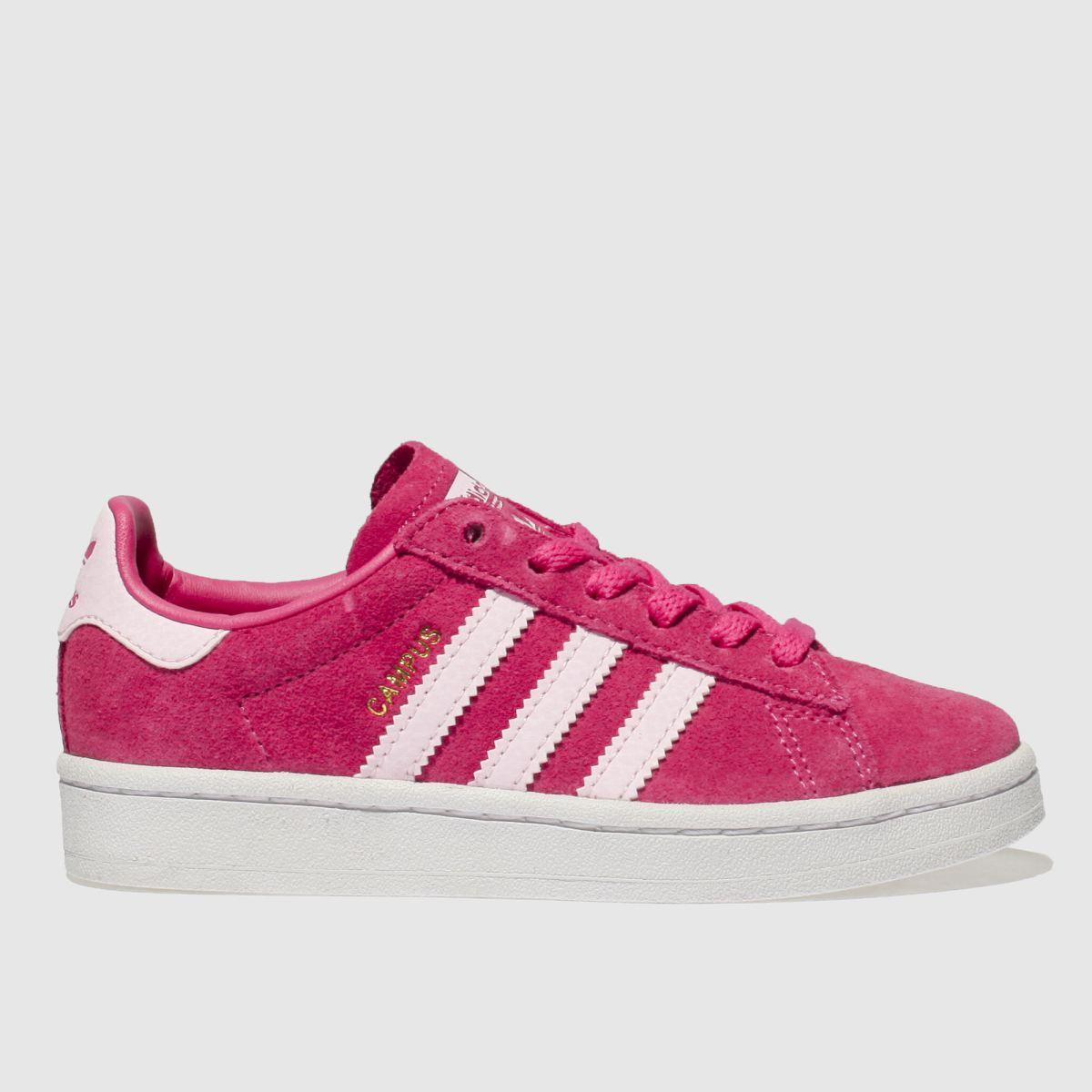 Adidas Pink Campus Girls Junior Junior