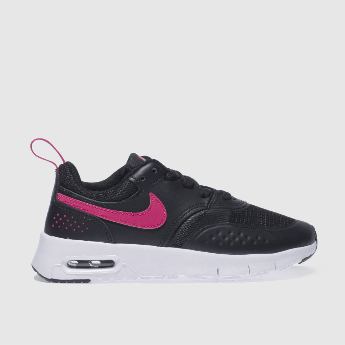 nike black & pink air max vision Girls Junior Trainers