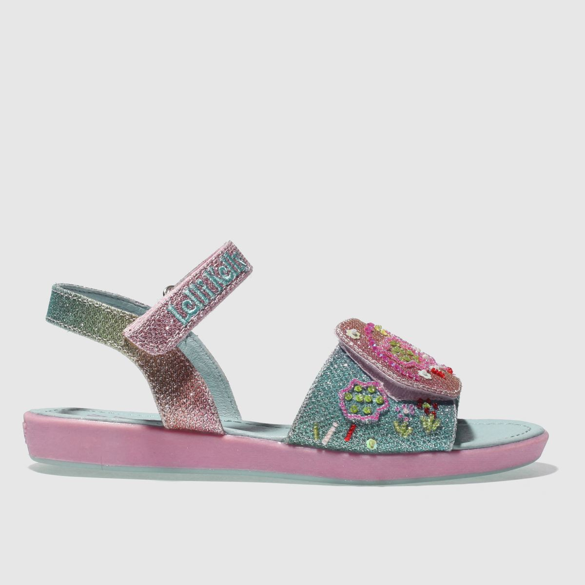 Lelli Kelly Lelli Kelly  Pink & Blue Rainbow Tillie Girls Junior Sandals
