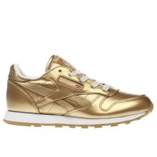 Reebok Gold Classic Leather Girls Junior