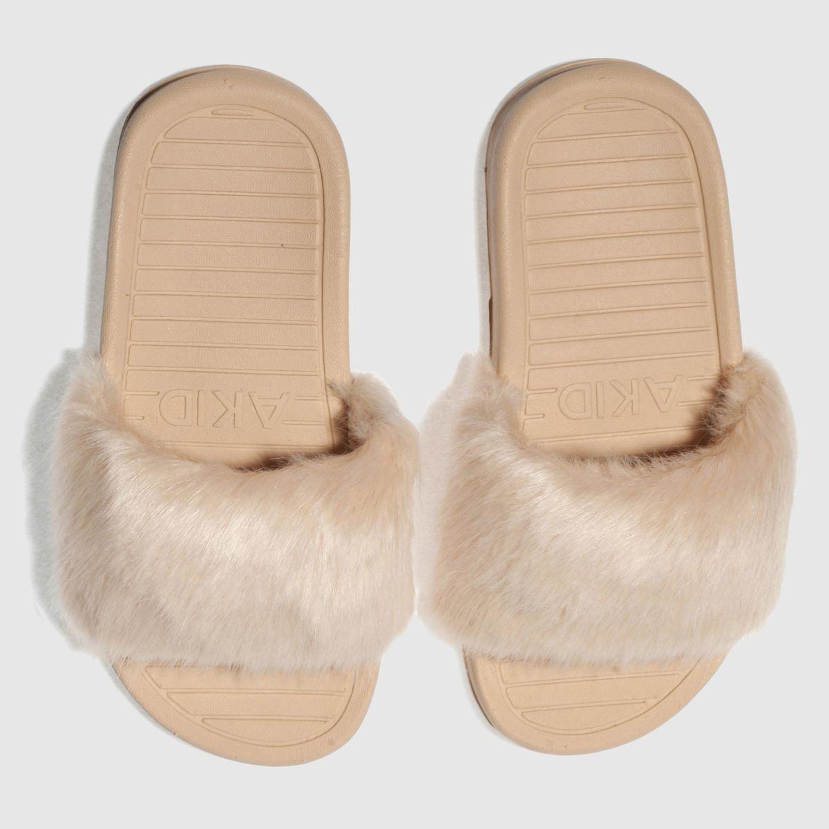 Akid Akid Pale Pink Aston Girls Junior Sandals