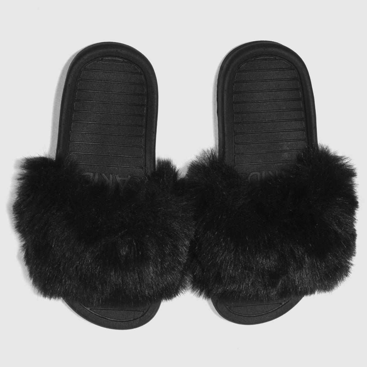 Akid Akid Black Aston Girls Junior Sandals