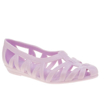 Girls Juju Jellies Lilac Vicky Woven Girls Junior