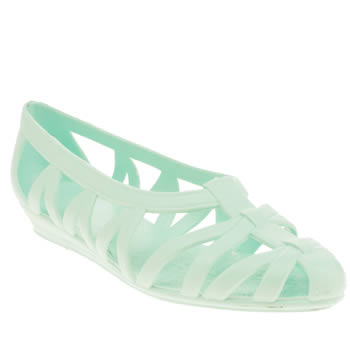 Juju Jellies Pale Blue Vicky Woven Girls Junior