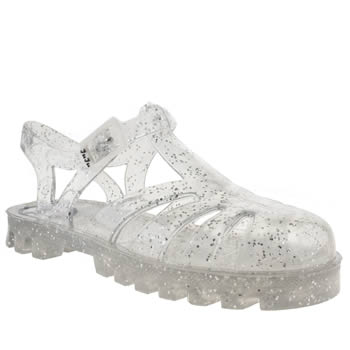 kids juju jellies clear sammy trainers