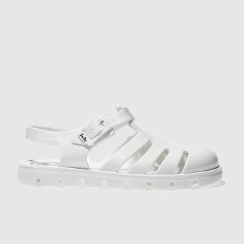 Girls Juju Jellies White Maxi Girls Junior