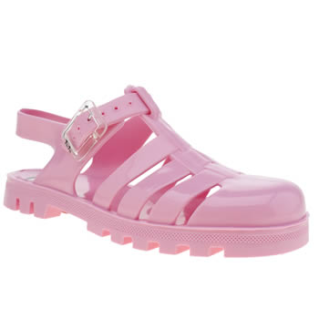 Girls Juju Jellies Pale Pink Maxi Girls Junior