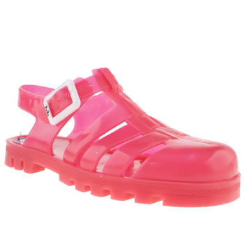 kids juju jellies pink maxi trainers