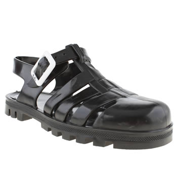Juju Jellies Black Maxi Girls Junior