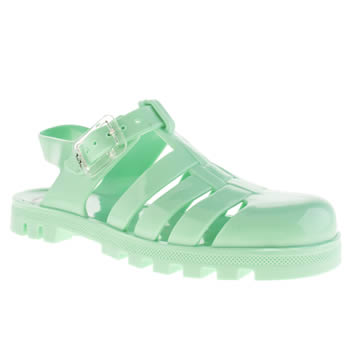 Girls Juju Jellies Light Green Maxi Girls Junior