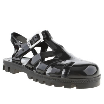 Juju Jellies Black Sammy Girls Junior