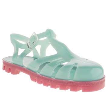 Girls Juju Jellies Turquoise Sammy Girls Junior