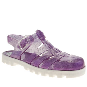Juju Jellies Purple Nino Two Tone Girls Junior