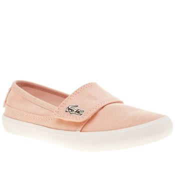 Girls Lacoste Pale Pink Marice Girls Junior