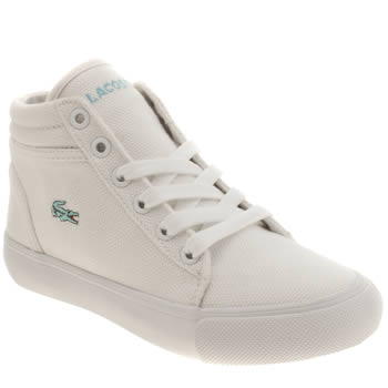Girls Lacoste White Popstop Girls Junior