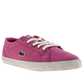 Girls Lacoste Pink Marcel Girls Junior