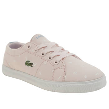 Lacoste Pale Pink Marcel Girls Junior