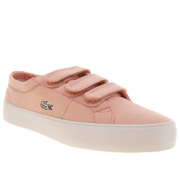 Girls Lacoste Pale Pink Marcel Chunky Girls Junior