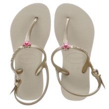 Havaianas Gold Freedom Girls Junior