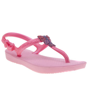 Girls Havaianas Pink Freedom Girls Junior