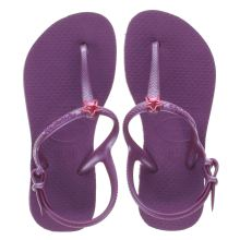 Havaianas Purple Frredom Girls Junior