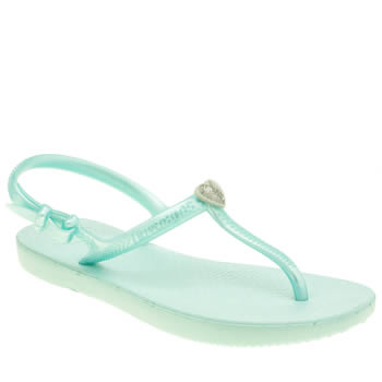 Havaianas Pale Blue Freedom Girls Junior