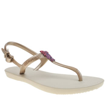 Havaianas Beige Freedom Girls Junior