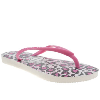 Havaianas Pink Slim Animals Girls Junior