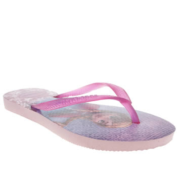 Girls Havaianas Multi Slim Frozen Girls Junior