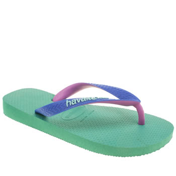 Havaianas Turquoise Top Mix Girls Junior