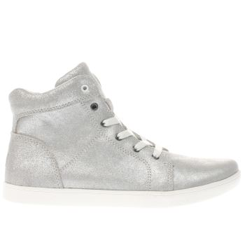 Ugg Silver Schyler Metallic Girls Junior