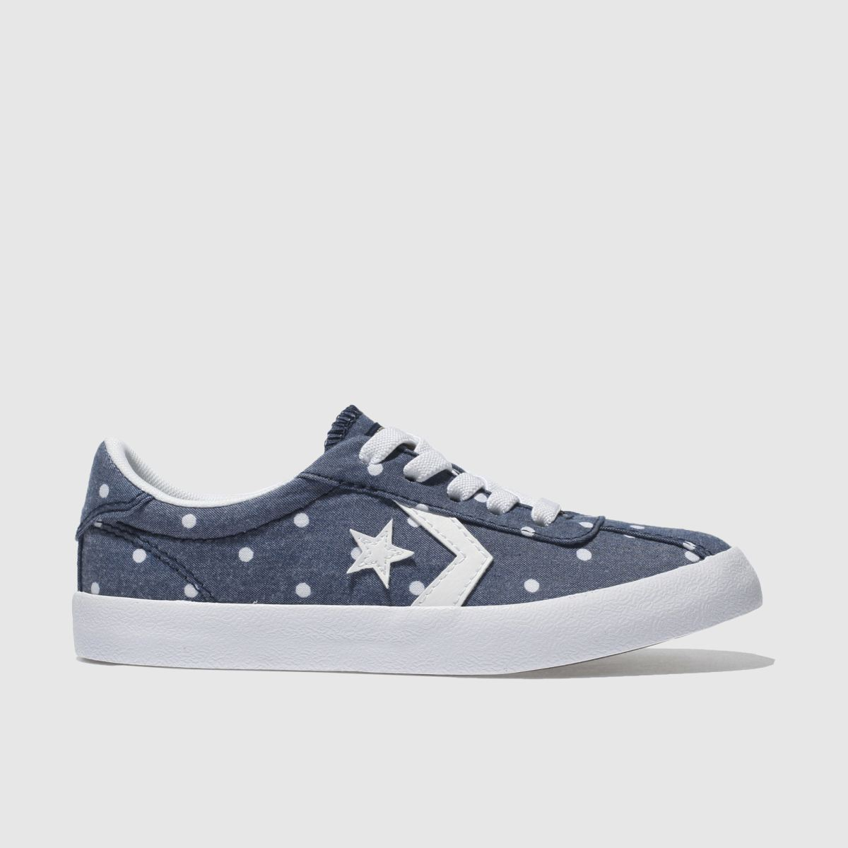 Converse Navy & White Breakpoint Ox Girls Junior Trainers