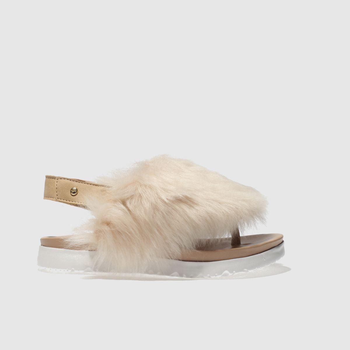 Ugg Natural Holly Girls Junior Sandals