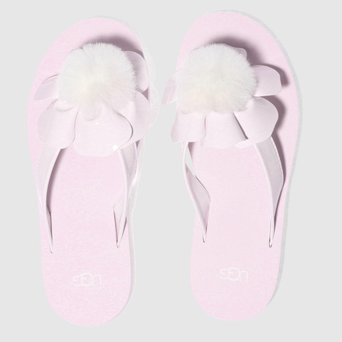 Ugg Pale Pink Poppy Girls Junior Sandals